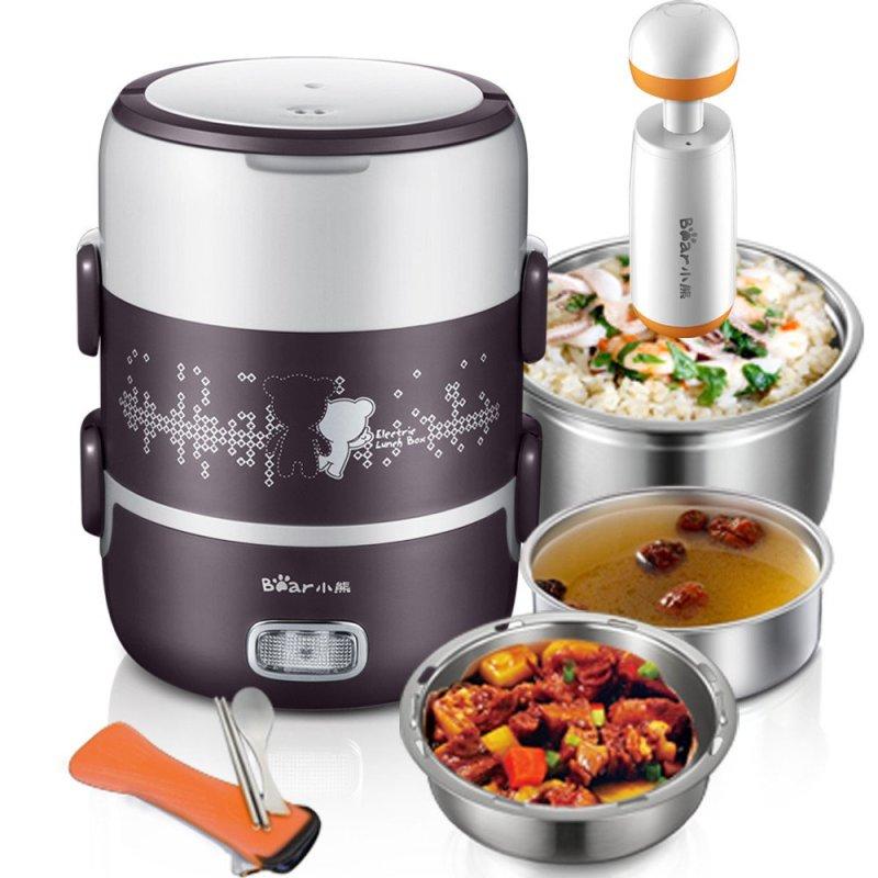 电热饭盒 牌子排名_小熊(Bear) DFH-S2123 多功能蒸煮电热饭盒 2L - _慢慢买比价网