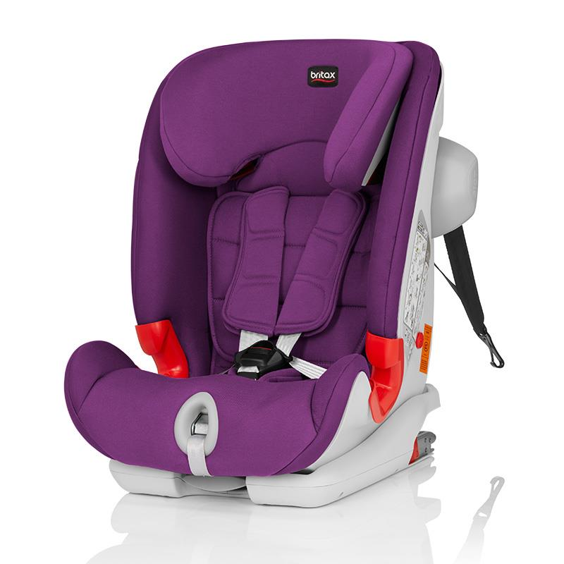 宝得适(britax) 百变骑士 9个月-12岁 五点式安全带 汽车儿童安全座椅的图片