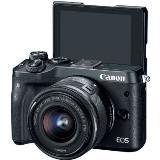 佳能(Canon) EOS M6 (EF-M 15-45mm)镜头 微单数码相机