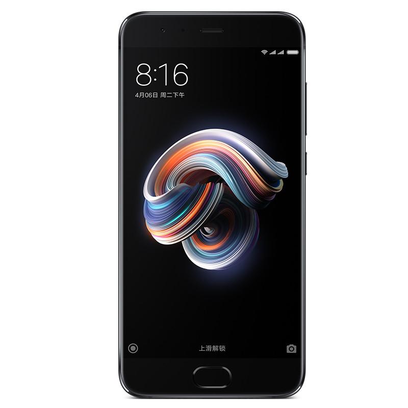 Xiaomi/小米 小米Note 3 6GB+64GB 亮黑色 移动联通电信4G手机 人脸解锁1899元